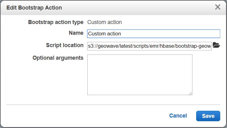 GeoWave Quickstart Guide AWS EMR Environment Setup